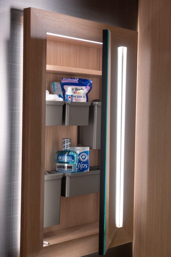LED Lit Medicine Cabinet