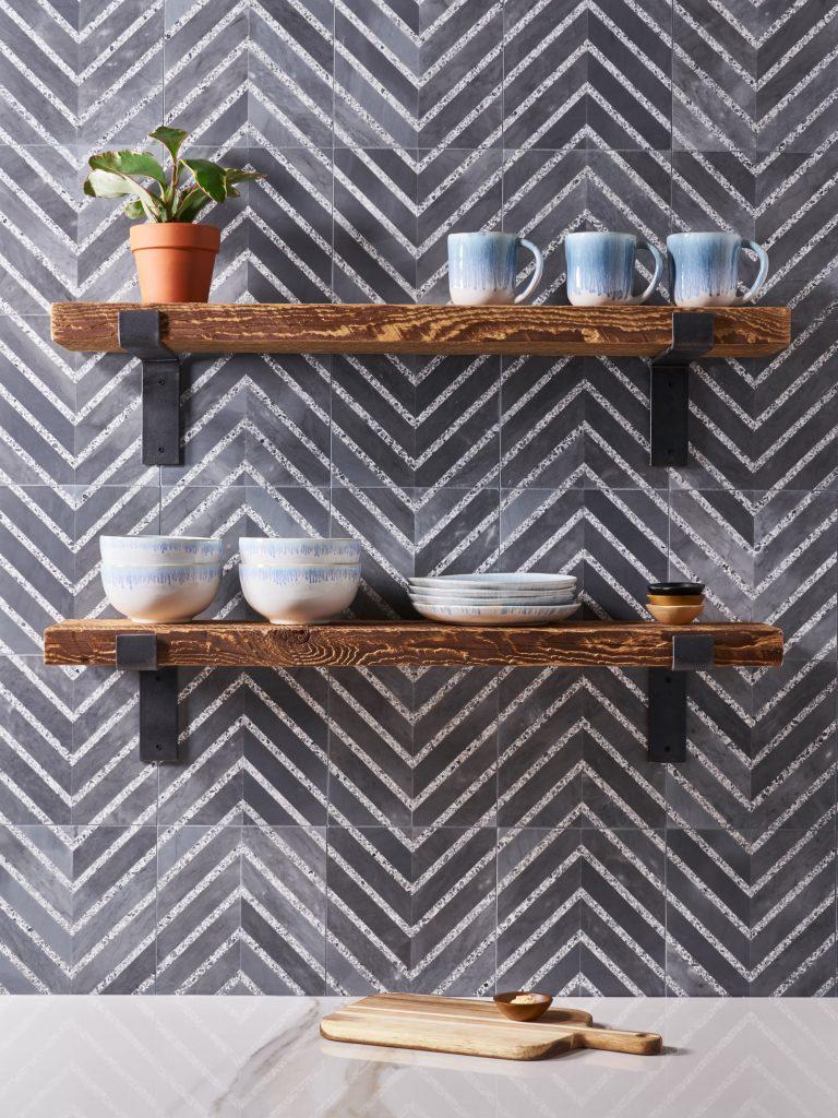 Terrazzo-Look Tile