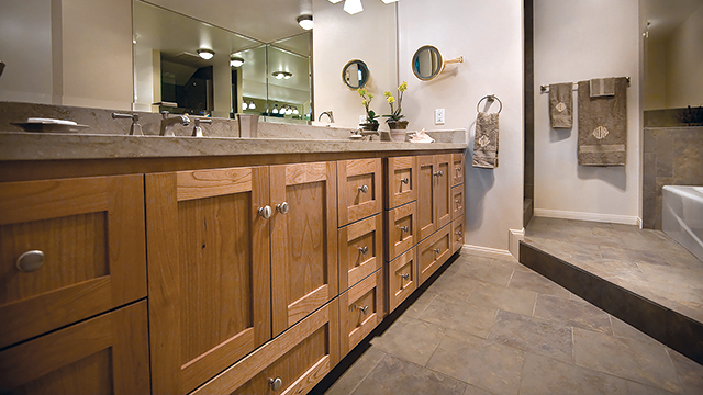 Vanities integrate timeless beauty with versatility