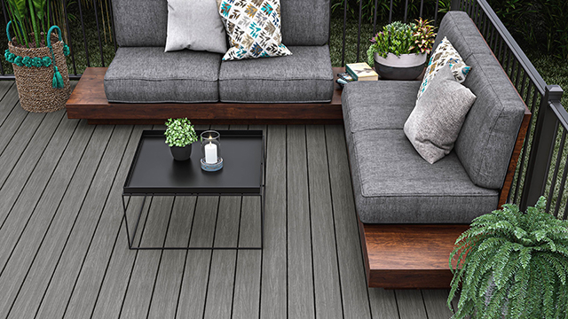 Composite decking offers replacement warranty
