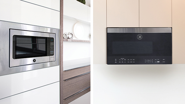 Microwaves give kitchen quick, convenient cooking