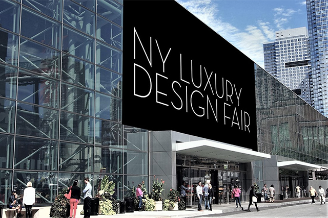 Luxury Design Fair Set for NY in September