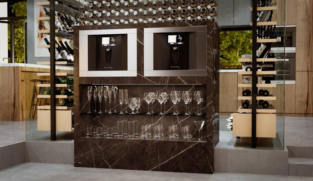 Integrated Wine Server