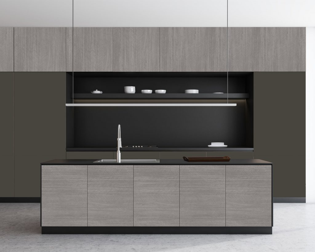 Distinctive Walnut Cabinets