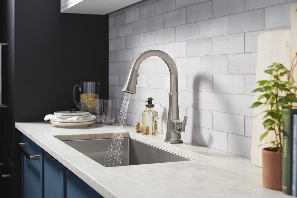 Connected Kitchen Faucet