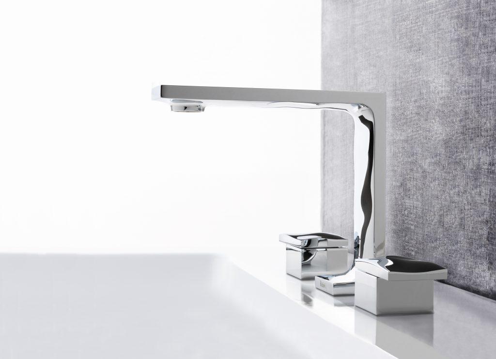 Dual-Finish Bath Faucets
