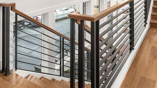 Metal-panel stair system speeds up installation
