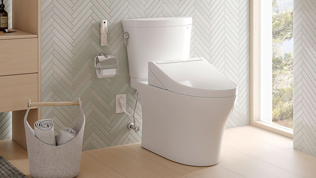 Additions to dual-flush toilet line help elevate space