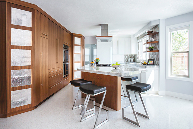 Kitchen Becomes Bright and Airy