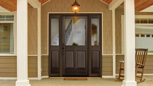 Exterior doors protect against water penetration