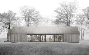 Parti Shot: Three Gables by Studio B Architecture + Interiors