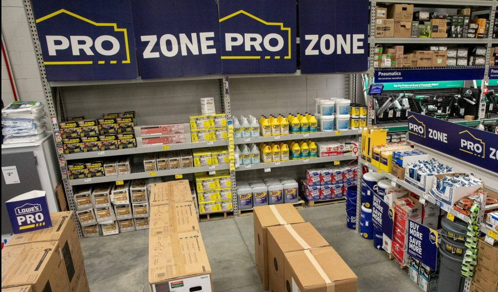 Lowe's Introduces Enhanced Shopping Experience for Pro Customers