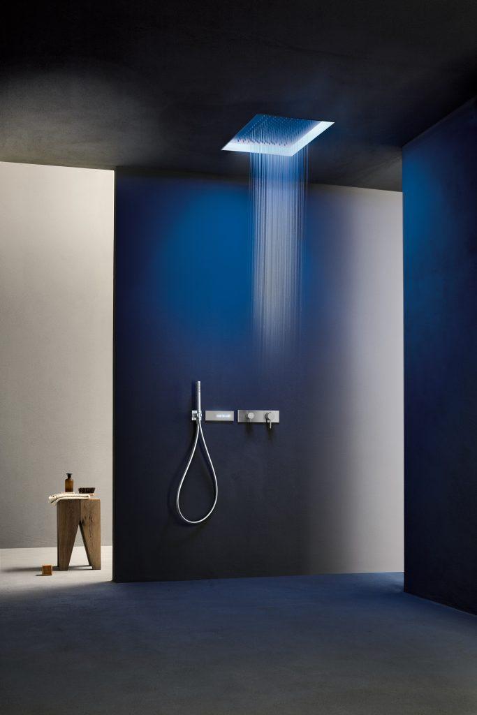 Customized Chromatherapy Shower