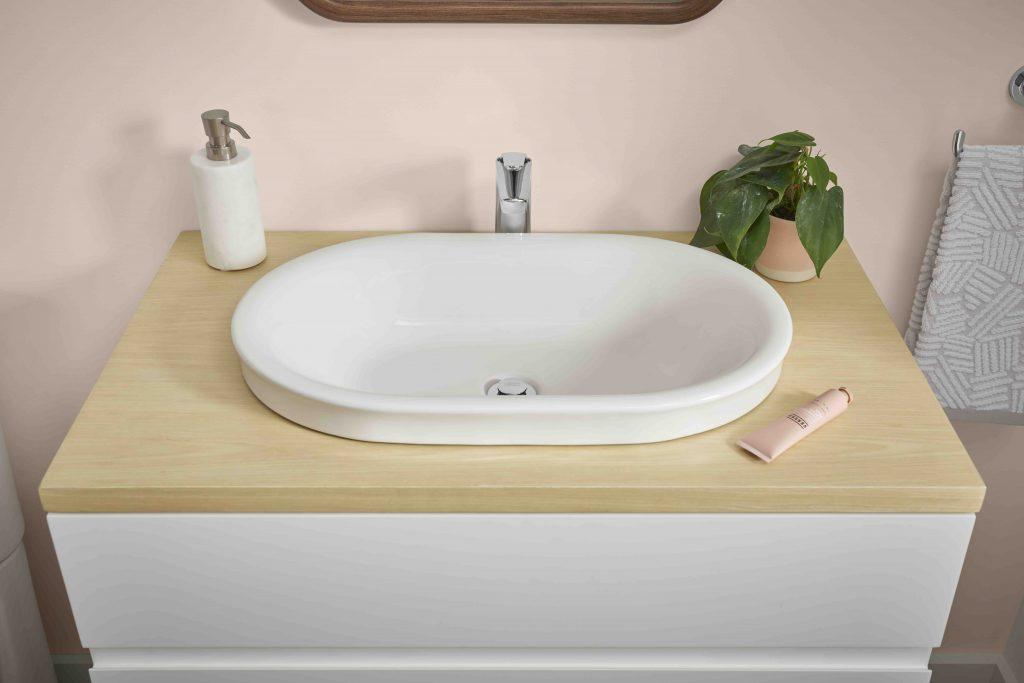 Above-Counter Bath Sink