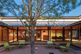 Case Study Interiors: Parkside House by Rhotenberry Wellen Architects