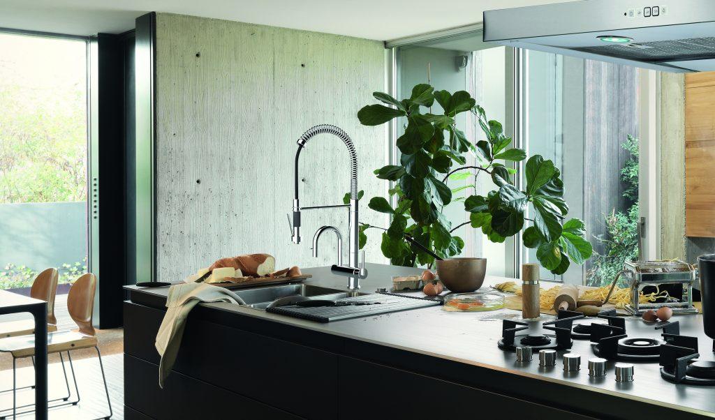Dual-Spout Faucet