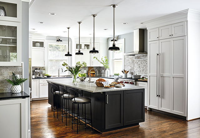 Kitchen Becomes Practical and Luxurious