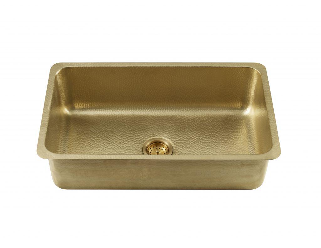 Brass Kitchen Sink Line