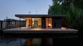 2021 AIA Small Project Awards: Portage Bay Float Home by Studio DIAA