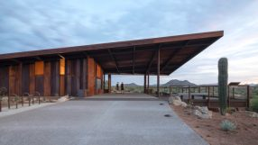 2021 AIA Small Project Awards: Fraesfield Trailhead at the Scottsdale McDowell Sonoran Preserve by SmithGroup