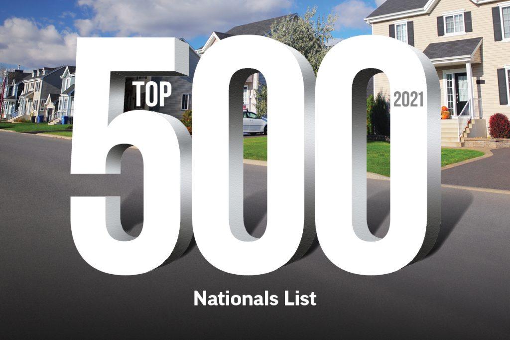 2021 Top 500: Nationals List