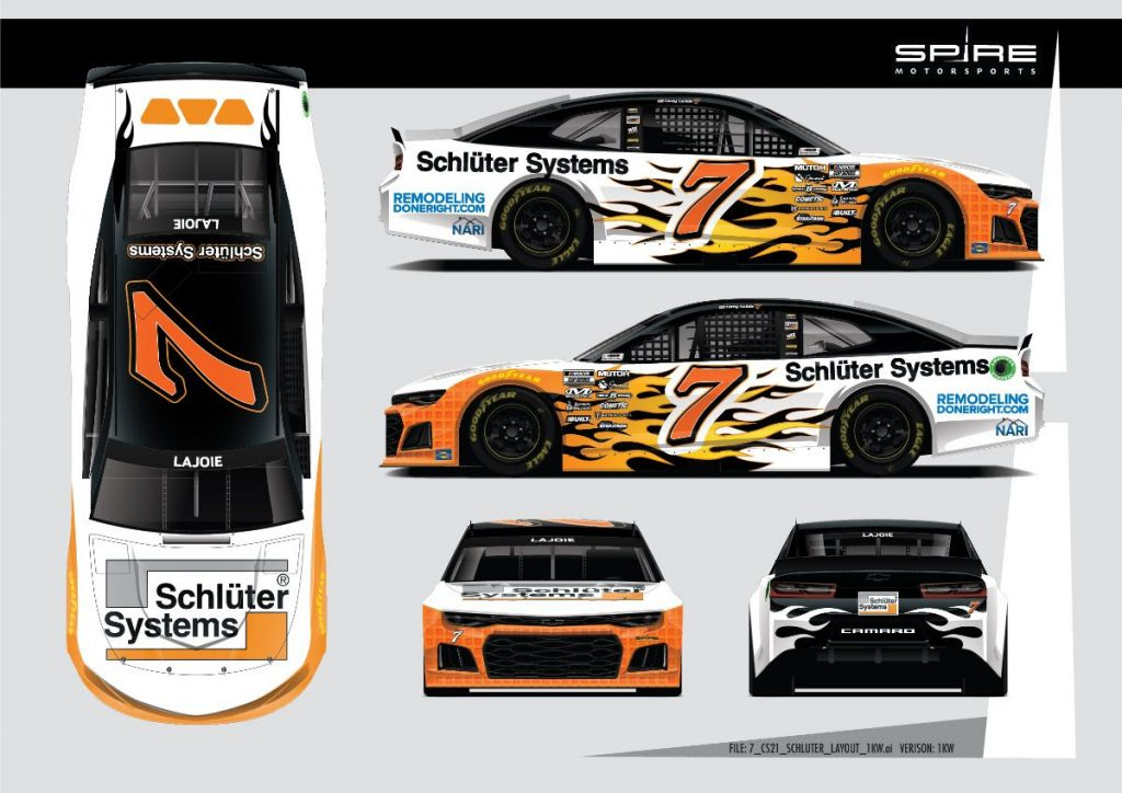 NARI Teams with Spire Motorsports to Promote Website