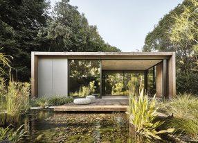 2021 RDAA   Custom Outdoor Living Design   Atherton Pavilions   Feldman Architecture