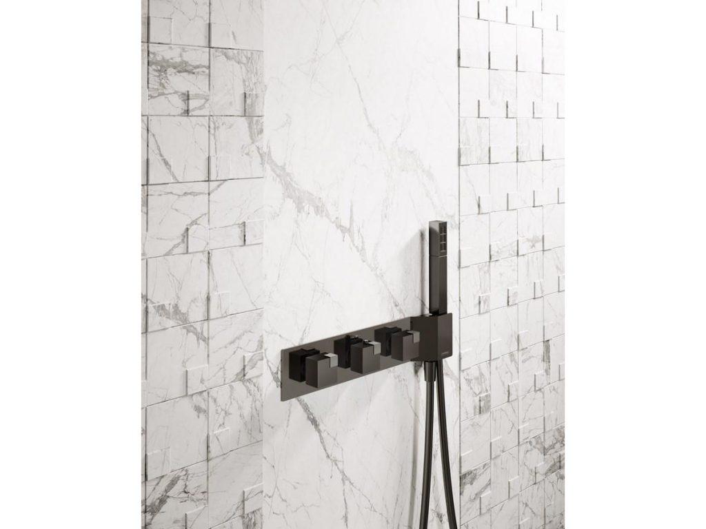 Geometric Shower Mixer