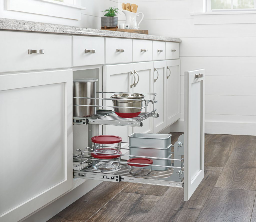 Two-Tier Pullout Shelf