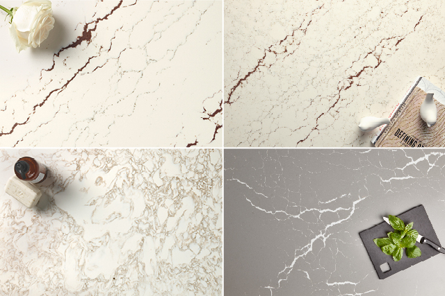 Quartz surface designs reveal newfound energy